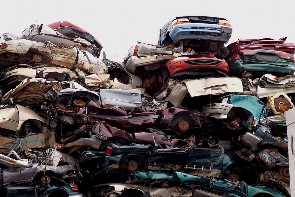 sell car to junkyard