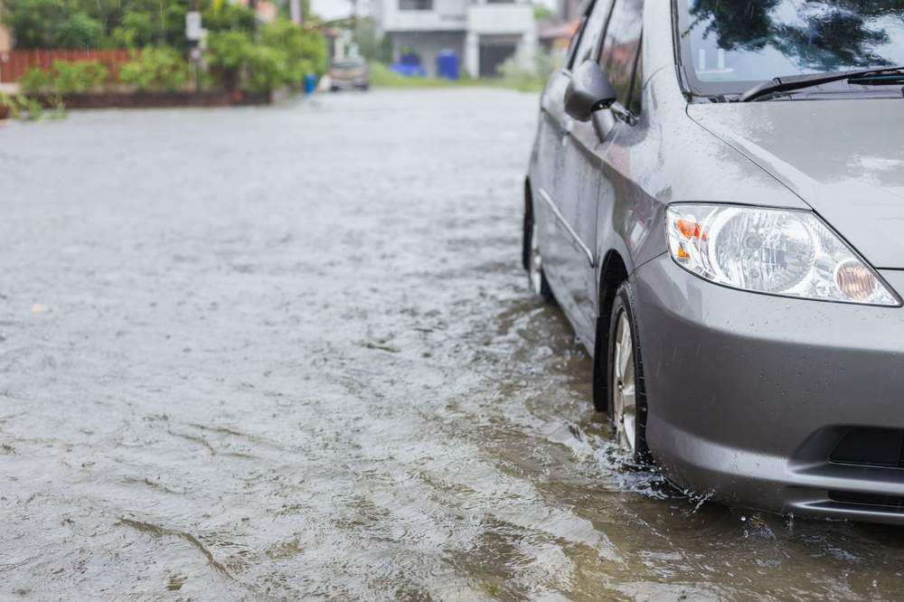 what to do with your flooded car